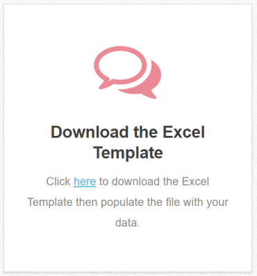 BIR Excel Uploader Template