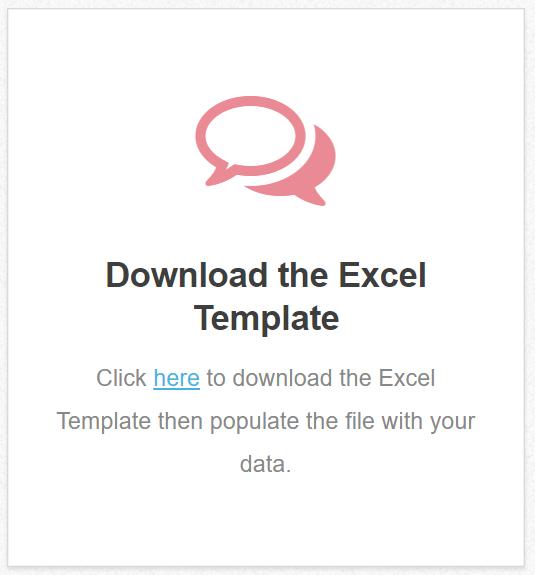 BIR Excel Uploader Template